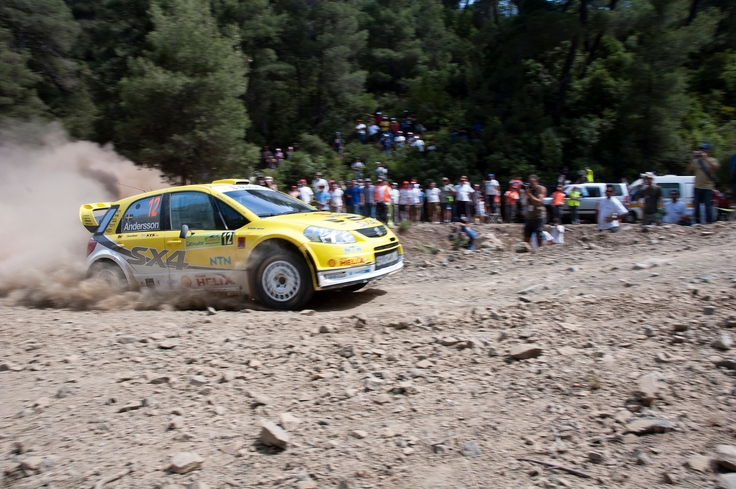 Suzuki WRC, P G Anderson, Rally Acropolis, Willi Nothers