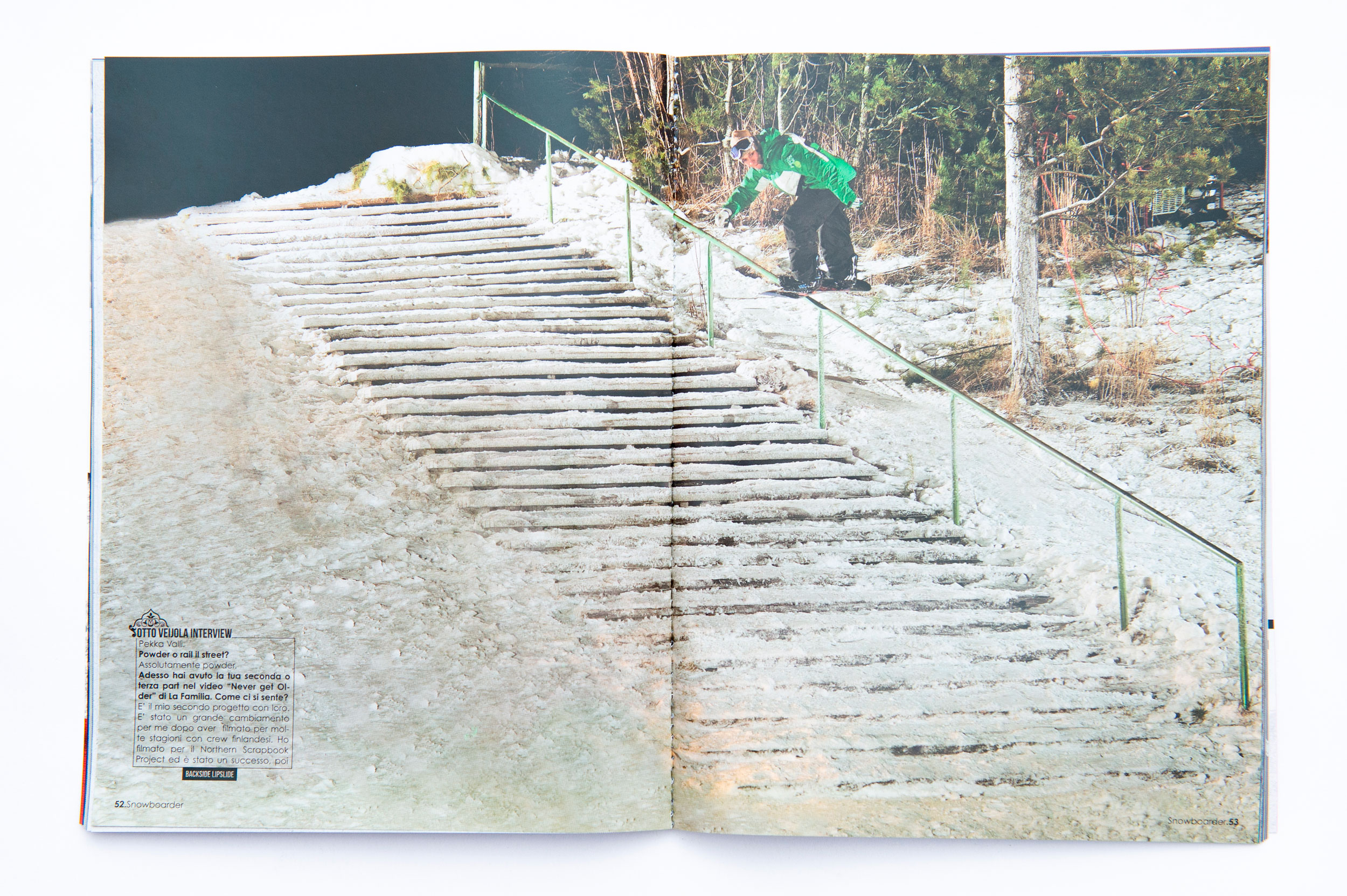 Otto Veijola, Editorial, Snowboardermagazin, Willi Nothers, Referenz