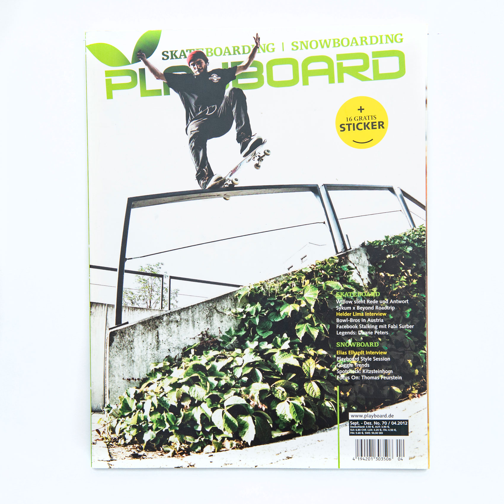 Tom Derichs, Nosegrind, Cover, Playboard, Willi Nothers