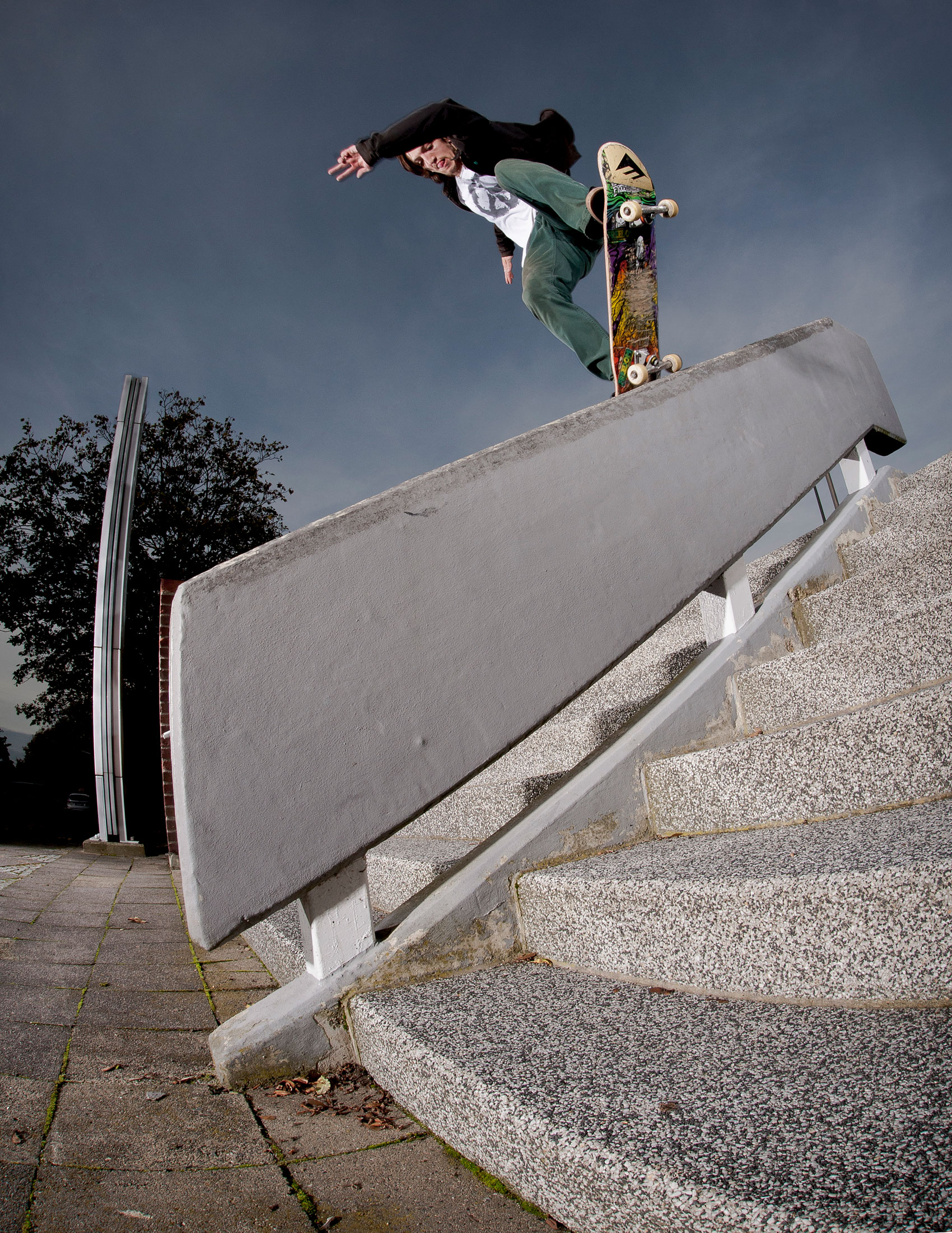 Andre Gerlich, Skatefoto, Willi Nothers, Editorial, Levis