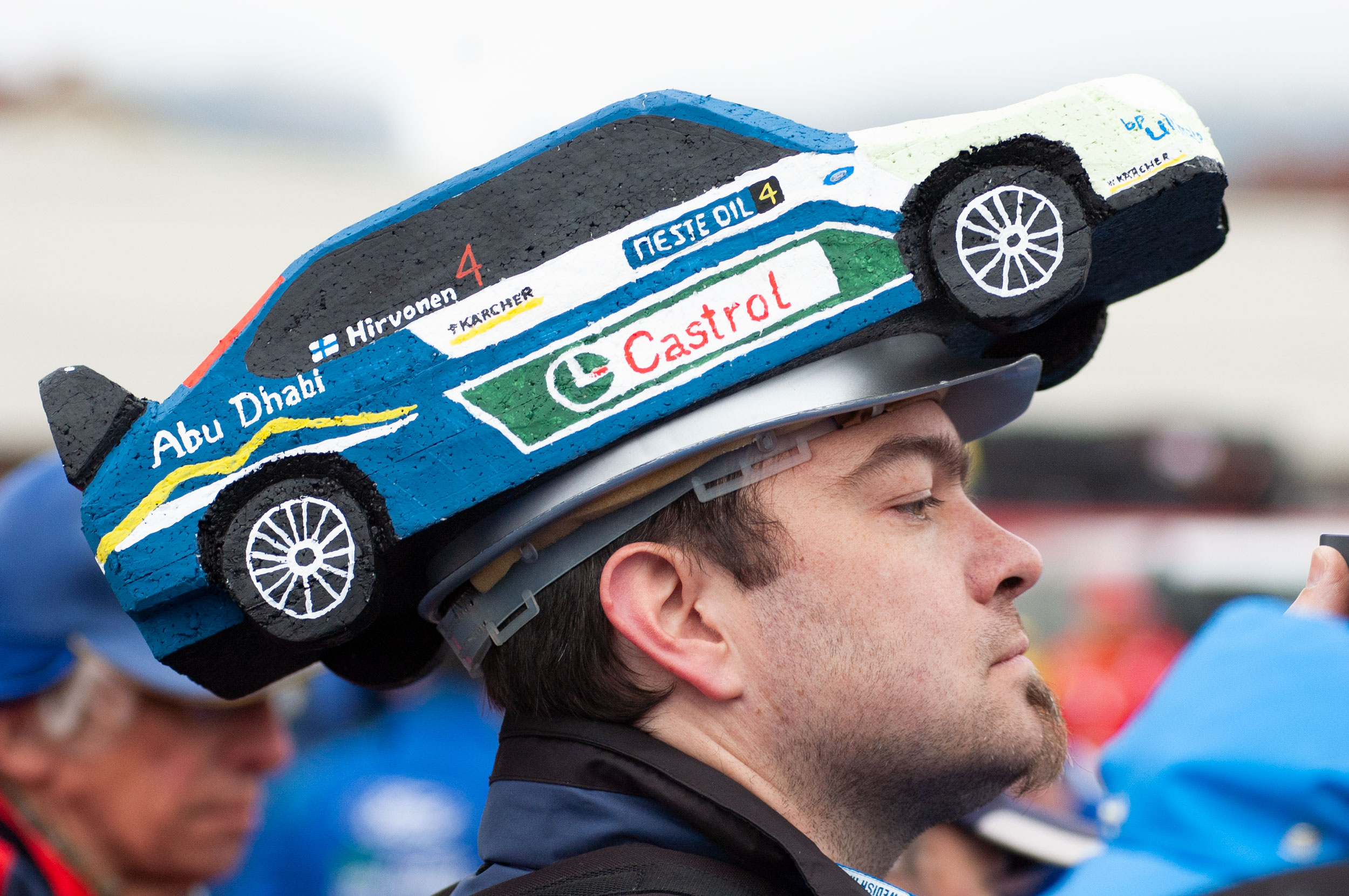 WRC, Rally Finnland, Fan, Helm, Fotoreportage, Willi Nothers