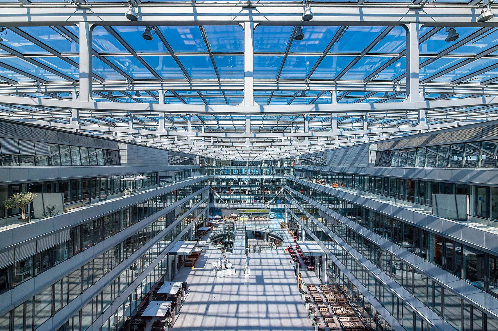 The Squaire, Frankfurt am Main,  Airport, Architektur Fotografie,