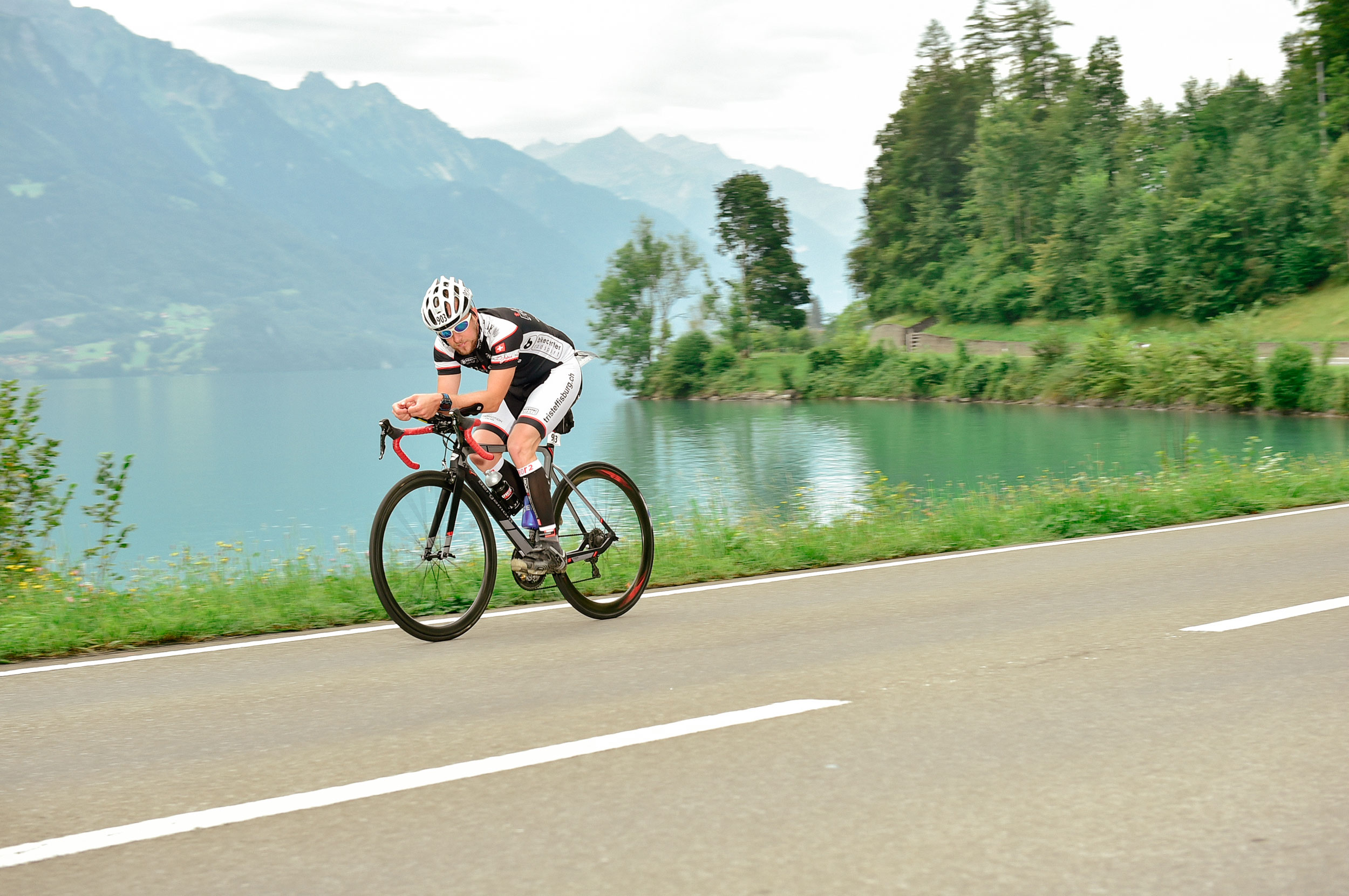 Inferno Triathlon Schweiz, Radsport,